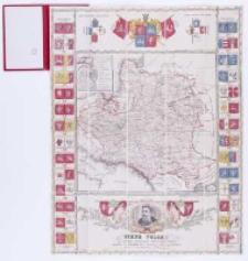 Mapa Polski za panowania króla Jana Sobieskiego wydana w dwóchsetną rocznicę odsieczy Wiednia przez J.Szpetkowskiego.