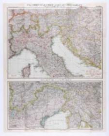 Flemings Karte des italienisch-österreichischen Kriegschauplatzes. Nord- und Mittel-Italien.