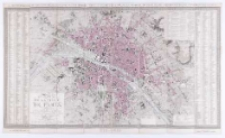 Plan de la volle de Paris divisé en 12 arrodissemens et 48 quartiers. Dressé par Girard. Gravé par Vicq.