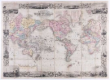 Colton's new illustrated map of the world on Mercator's projection , Published by J. H. Colton