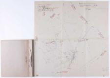 Kopia z mapy katastralnej. Obręb Dziećmierowo... Sprawdzono... B. Janicki