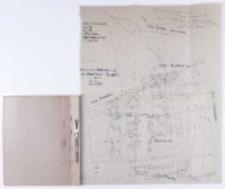 [...] Kopia mapy katastralnej. Obręb Dachowa [...]. Sprawdzono [...] , B. Janicki [...]