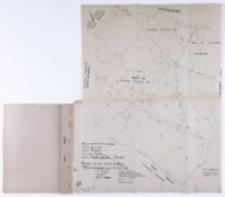 Kopia z mapy katastralnej. Obręb Gądki...Sprawdzono... B. Janicki.