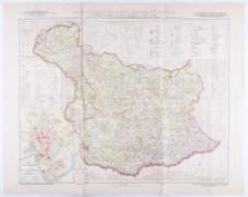 Atlas historyczny Polski , [Serja A] , [Nr 1] , Mapy szczegółowe , Mapa województwa krakowskiego z doby Sejmu Czteroletniego (1788-1792) (osobno wydaje się tekst źródłowo-metodyczny do mapy) , w dodatku Plan Miasta Krakowa z lat 1788-1792