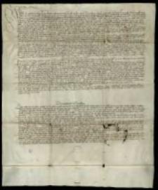 [Nadanie i zatwierdzenie pierwszego statutu (ordynacji) cechu konwisarzy i mosiężników (kotlarzy) w Krakowie]