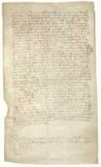 [Jan syn Dominika de Inerchii Onoletti sprzedaje Benevenuto de Richeriis z Pordenone za 40 denarów część posiadłości Brayda w pobliżu Onoletto].
