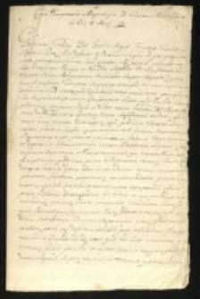 Kolekcja akt z lat 1698-1731