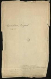 Dyplomy, reskrypty, dymisje a wojska i korpusu kadetów, nominacje na urzędy, itd. króla Stanisława Augusta (1766-1794)