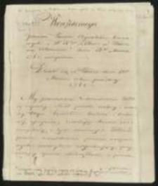 Odezwy, dekrety deklaracje, instrukcje, manifesty, uniwersały, okólniki - odpisy z dokumentów 18-19 w.