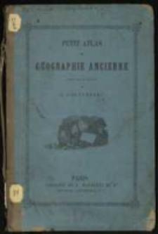 Petit atlas de géographie ancienne dressé sous la direction de E. Cortambert.