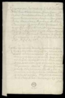 Akta i korespondencja z lat 1696-1740