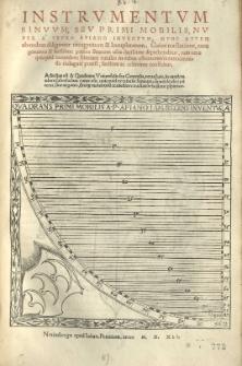 Instrumentum sinuum, sev primi mobilis, nuper a [...] inventum, nunc [...] ab eodem [...] recognitum et locupletatum [...]. Adiectus est et Quadrans Uniuersalis [...] nova facie [...] fabrefactus [...].