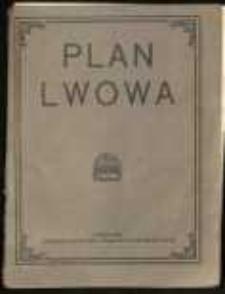 Plan Lwowa z informacyjnym przewodnikiem po mieście [...].