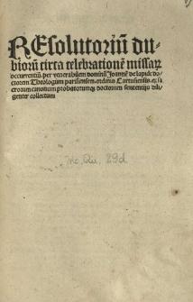Manipulus curatorum.
