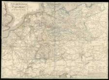 Post-Reise-Karte von Deutschland und den angränzenden Staaten [...] das nördliche Deutschland nach O. F. Schmidt, das südliche nach A. Klein - entworfen [...] gez. u. gestoch. von Joh[ann] Bapt[ist] Seitz.