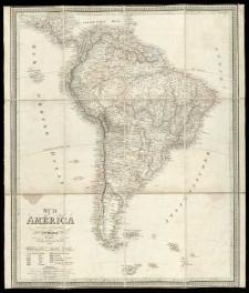 Süd America entworf. und gez. von C. F. Weiland.