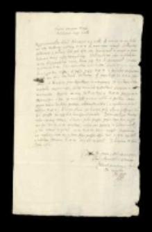 Kolekcja akt do panowania Władysława IV