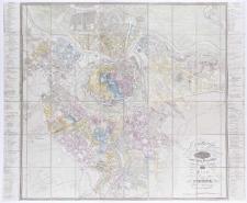 Grundriss der [...] Haupt- und Rezidenzstadt Wien samt ihren Vorstädten.