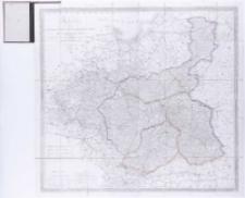 Karte von dem Königreich Pohlen, Gross-Herzogthum Posen und den angrenzenden Staaten in 4 Sectionen [...] entworf. u. gez. von F. B. Engelhardt.
