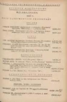 Biuletyn Biblioteczny.Spis Najważniejszych Przybytków 1949 maj R.2 Nr5