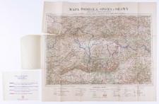 Mapa turystyczna Podhala, Spisza i Orawy