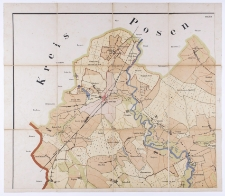 [Karte vom Kreise Schrimm].