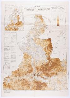 Antropogeograficzny atlas Polski: gęstość zaludnienia, podatek gruntowy i narodowość mieszkańców. Zeszyt 2 B. Arkusz 1