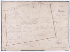 Charte von Kijewo. Schrodaer Kreises. Angefertigt im Jahre 1825 durch Kuhn.