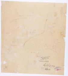 Kopja z mapy katastralnej obrębu Prowent Bnin. Mapa 3 [...] przekopiował z mapy katastralnej T. Szczebliński [...]