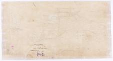 Kopia z mapy katastralnej obrębu Zimino [...] , [wyk.] Pietrzyński (?)