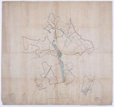 [Mapa lasów należących do klucza kórnickiego].