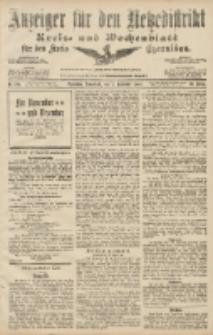 Anzeiger für den Netzedistrikt Kreis- und Wochenblatt für den Kreis Czarnikau 1907.11.02 Jg.55 Nr129