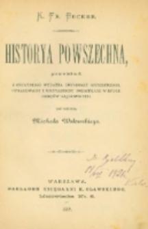 Historya powszechna. T.11