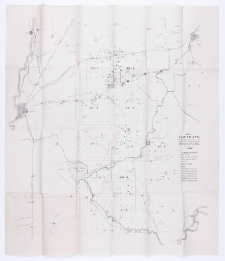 Maps and colored section referred to in the report of state geologist of Indiana, 1869.