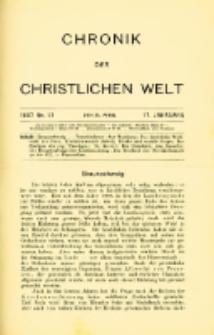 Chronik der christlichen Welt. 1907.04.25 Jg.17 Nr.17