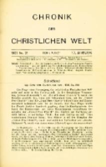 Chronik der christlichen Welt. 1907.08.01 Jg.17 Nr.31