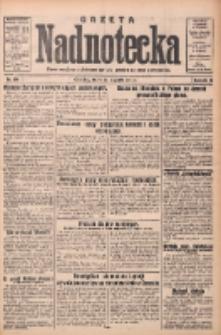 Gazeta Nadnotecka: pismo narodowe poświęcone sprawie polskiej na ziemi nadnoteckiej 1933.01.25 R.13 Nr20