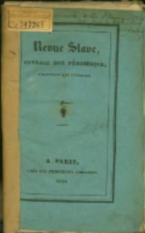 Revue Slave : Ouvrage non périodique, parassant par livraison. 1.