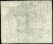 Neuste Post-Karte von Deutschland und dessen angrenzenden Laender.