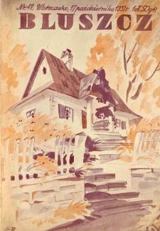 Bluszcz. Społeczno literacki ilustrowany tygodnik kobiecy 1931.10.17 R.64 nr42