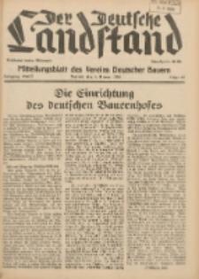 Der Deutsche Landstand: Mitteilungsblatt des Vereins Deutscher Bauern 1938.07.06 Jg.2 F.27