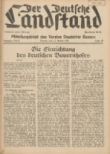 Der Deutsche Landstand: Mitteilungsblatt des Vereins Deutscher Bauern 1938.07.13 Jg.2 F.28
