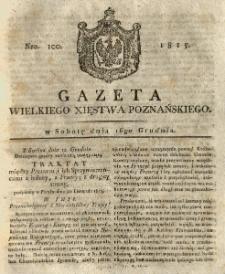Gazeta Wielkiego Xięstwa Poznańskiego 1815.12.16 Nr100