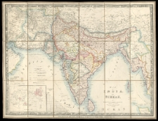 Map of India and Birmah by James Wyld [...].