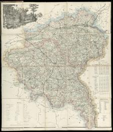 Mappa W. Księstwa Poznańskiego ułożona i wydana przez W[iktora] Kurnatowskiego w Poznaniu.