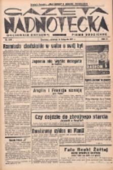 Gazeta Nadnotecka (Orędownik Kresowy): pismo codzienne 1937.11.14 R.17 Nr262