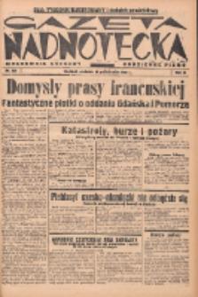 Gazeta Nadnotecka (Orędownik Kresowy): pismo codzienne 1938.10.16 R.18 Nr238