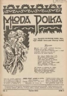 Młoda Polka : pismo poświęcone polskiej młodzieży żeńskiej 1929.03 R.10 Nr3
