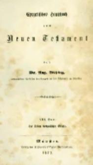Erklärung der sieben Katholischen Briefe