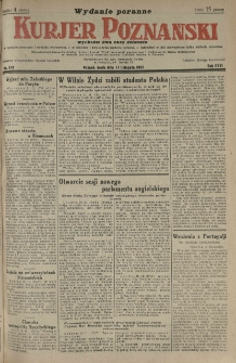 Kurier Poznański 1931.11.11 R.26 nr 519